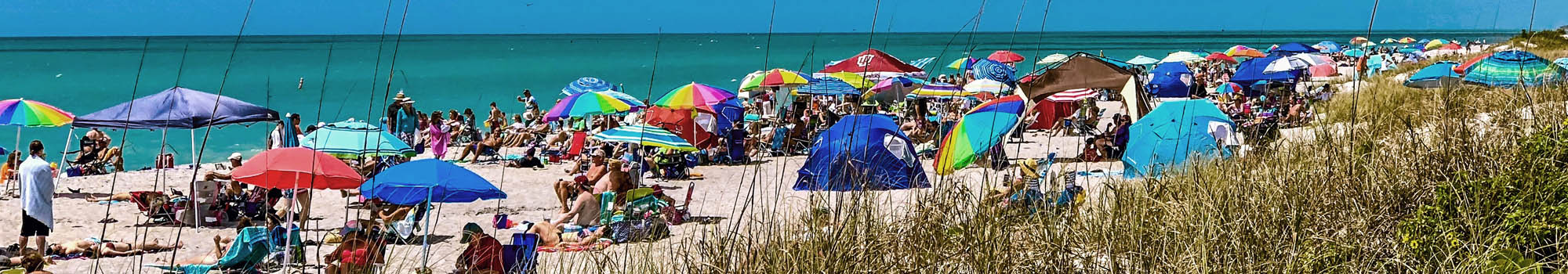 The white sands of Englewood Beach just minutes from Deerborn.