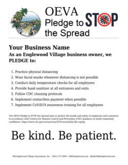 Pledge to Stop the Spread
